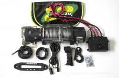 Лебедка Ironman 9500 LBS 12v синтетический тр (Австралия)