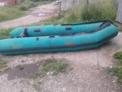Продам резиновую лодку Орион-15 длина 364 {дно  фанера} хор. состоянии