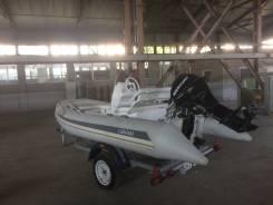 Продам надувную лодку с мотором Grand S 370 2012г
