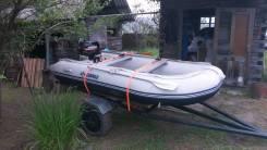 Лодка с мотором и прицепом Находка