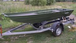 Алюминиевая Лодка Rusboat (Русбот) 38 JON, новая