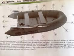 Продам надувную моторно гребную лодку Nordik 290