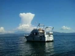 Срочно продам быстроходную двух палобную яхту 10,5 метров