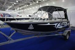 Новый катер WR boat 470AN c мот Yamaha F 60 cetl с прицепом
