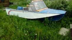 """Продаю лодку """"воронеж"""" с мотором"""