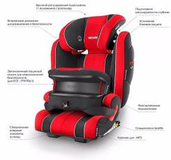 Автокресло Recaro Monza Nova IS Seatfix Группа 1-3