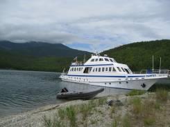 Теплоход на Байкале