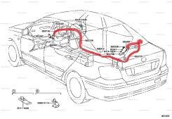 Шланг омывателя заднего стекла. Toyota: Corona, Windom, Aurion, Sprinter Trueno, Corolla, Altezza, Tercel, Vista, Sprinter, Mark II Wagon Blit, Caldin...