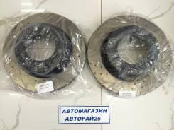 Перфорированные тормозные диски с насечками Toyota Land Cruiser