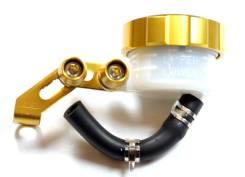 Тормозной бачок для мотоцикла, золотистого цвета, универсальный