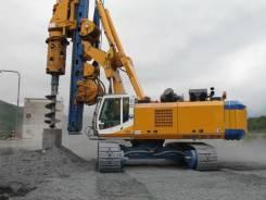 Услуги буровой Bauer BG 28 - до д. 2100 мм, автобуровой камаз БКМ 2012