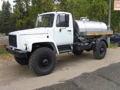 ГАЗ-33081. Молоковоз ГАЗ, 4x4