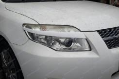 Накладка на фару. Toyota Corolla Axio, NZE141, NZE144, ZRE142, ZRE144, ZRE142G, NZE141G, ZRE144G, NZE144G Toyota Corolla Fielder, NZE141, NZE141G, NZE...