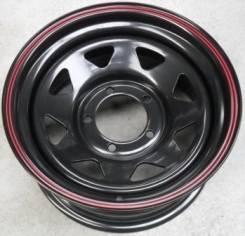 Новые диски R15x8 5x139.7 ET-25. белого и чёрного цвета
