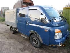Hyundai Porter II. Продам грузовой двухкабинник Хендай Портер2, 2 500куб. см., 1 000кг., 4x2
