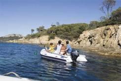 Лодка ПВХ Sevy Marine (Франция) и четырехтактник Yamaha F15AM