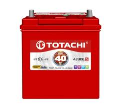 Totachi. 40А.ч., Обратная (левое), производство Корея