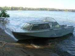 Катер Амур-2 с каютой