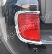 Накладки на фонари заднего бампера Toyota Land Cruiser 2007-2015