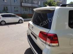 Спойлер Toyota Land Cruiser 200 2015-2020 Белый 070