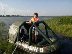 Лодка Aquasparks (камуфляж)+мотор Mercury-15