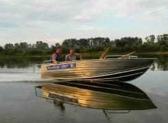 Алюминиевая моторная лодка Wyatboat 490Р от производителя
