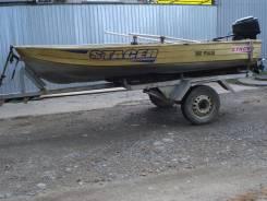 Продам лодку Stacer с телегой