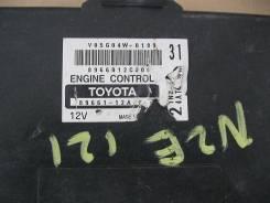 Блок управления двигателем 89661-12A Toyota Corolla NZE121, 1NZFE