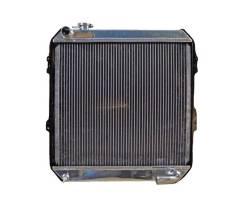 Радиатор алюминиевый цельносварной Toyota HiLux LN-106 двс 3L 50мм