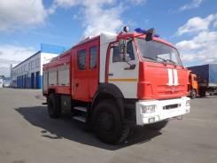 Пожарная автоцистерна АЦ 3.0-40 на шасси Камаз 43502.