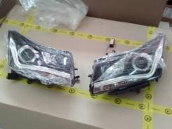 Альтернативная передняя оптика на Chevrolet Cruze в стиле AUDI V3