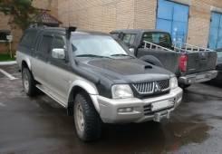 Шноркель для Mitsubishi L200/Pajero Sport (Challenger)/Triton(96-06)