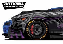 ArtVinil Винил на авто, оракал, брендирование, наклейки