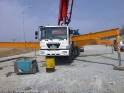 Услуги бетононасосoв от 17метров до 55 метров