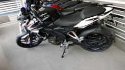 Мотоцикл BAJAJ Pulsar 200NS бело-черный,Оф.дилер Мото-тех, 2020