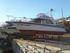 Продам яхту Ямаха 94 г. длина 9.5м дв. Вольво пента 2шт по 130л. с 2 ак