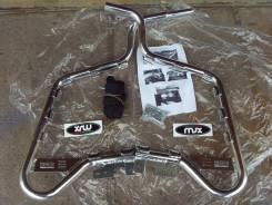 Ловушки-пороги ног на ATV Honda TRX 700 XX