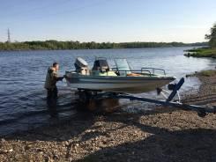 Лодка пластиковая+мотор Ямаха 30, в наличии!