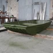 Алюминиевая моторная лодка за 73 тыс. руб. плоскодонка под мотор.