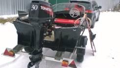 Лодка Янтарь с мотором 30л. с. продаётся