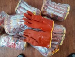 Перчатки резиновые утепленные (зимние)