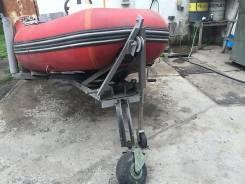 Лодка + двигатель Yamaha 20 + телега