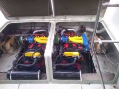 Установка автомобильных моторов в катер