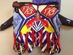 Мото перчатки KI NI4 RED BULL, мотоперчатки размер L
