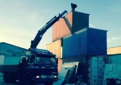 Аренда манипулятора 10 тонн, 15 тонн, Scania