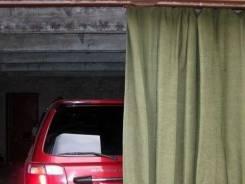 Пошив брезентовых штор на гаражные ворота.