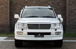 Решетка радиатора LX-Mode для Toyota Land Cruiser 100 (2002+)