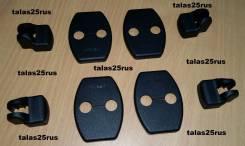 Накладки на дверные петли Lexus Rx270, Rx350, Rx450h (Пластик)Комплект 8