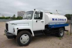 ГАЗ 3309. Новая Газ 3309 Пищевая автоцистерна молоковоз 2009 года выпуска, 4 730куб. см., 3 000кг., 4x2. Под заказ