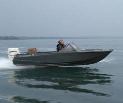 Алюминиевая лодка Барракуда 595 в Хабаровске